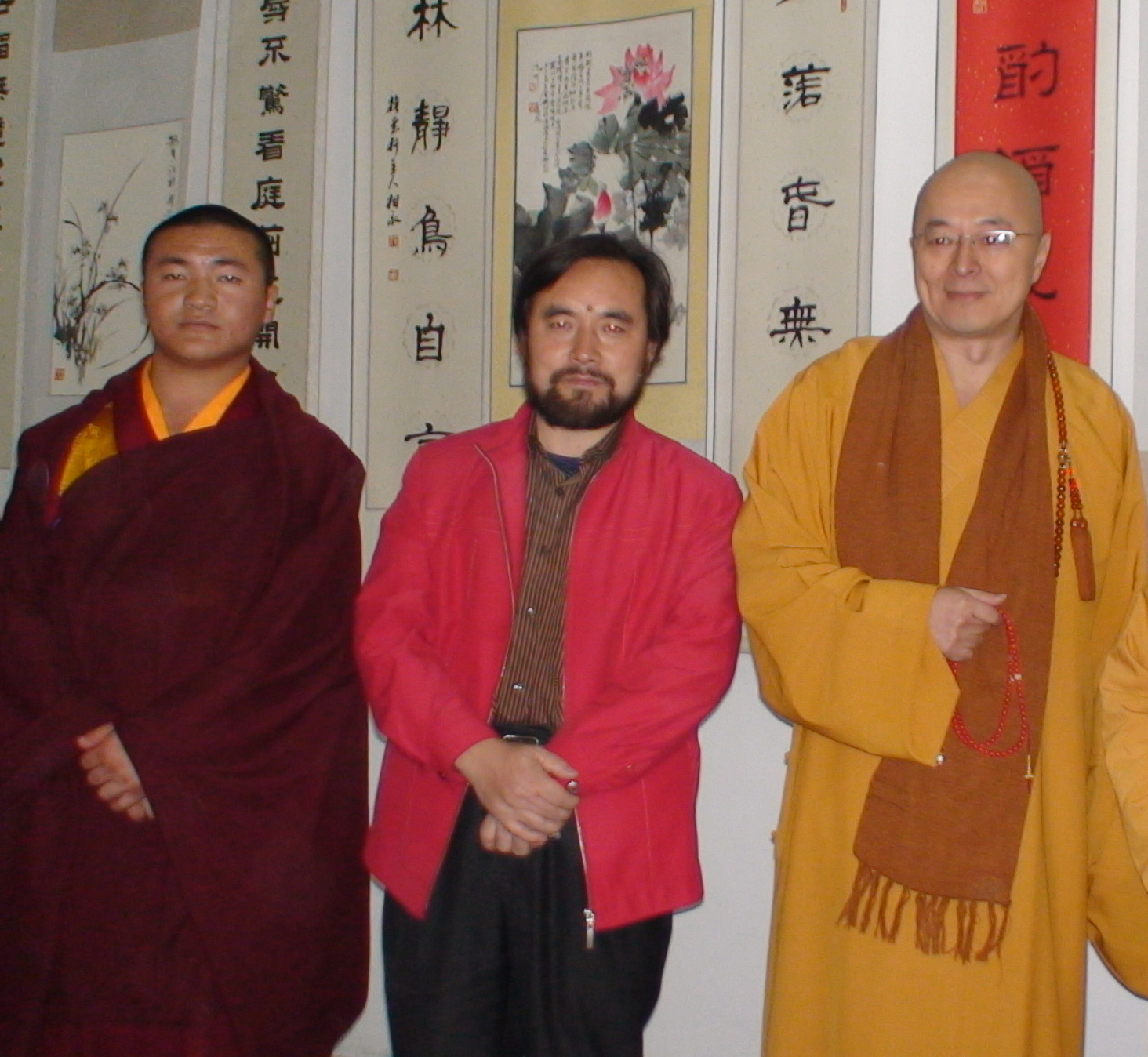 海峡两岸的佛学交流――台湾高僧海涛法师访问凉州与