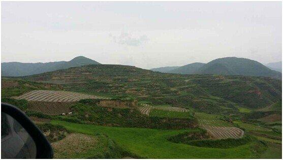 甘肃岷县大龙村的风景