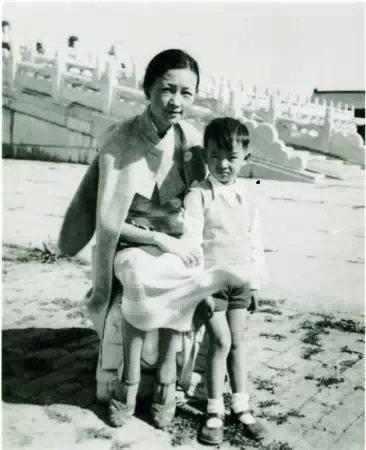 梁从诫《我的母亲林徽因》图片